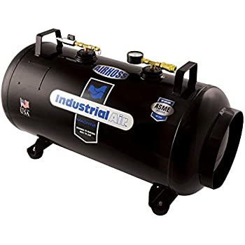 Industrial Air IT20ASME 20 gallon ASME Certified Vertical/Horizontal Air Receiver Tank