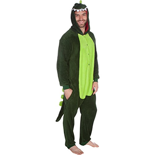 Godzilla Costume Outfit - Adult Size Large - Dinosaur Costume By Trademark Innovations