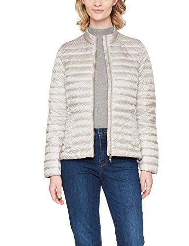 Cappotto Down Jacket Grau Geox sleet Woman F1450 blanc Donna Grey Cqtg5w1Sx