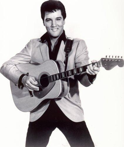 Elvis Presley Photo The King Fender Guitar Rock Star Music Photos 8x10