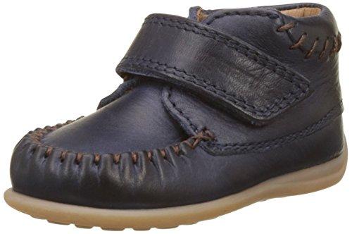 Bisgaard Unisex Baby Lauflernschuhe Sneaker Blau (21 Navy)