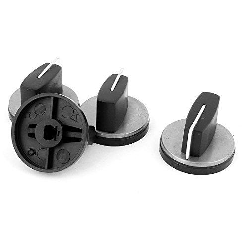 Bluesky 4PCS Black Plastic Cooktop Gas Fuel Stove Oven Range
