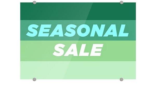 Stripes White Premium Acrylic Sign 36x24 CGSignLab Yard Sale