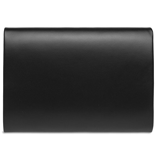 Enveloppe Noir Soirée Ta411 Baguette Femme Xl Pour De Pochette Caspar Sac qBOSx