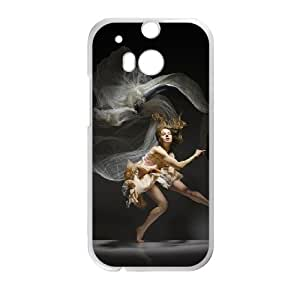 HTC One M8 Cell Phone Case , Fashion Lady Theme Custom Phone Case
