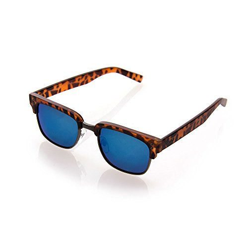 NYS Collection Pearl Place Vintage Sunglasses, Tortoise Shell Frame/Blue - Collection Nys Sunglasses