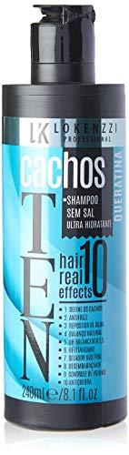 Lokenzzi Shampoo Cachos Ten, Ultra Hidratante, 240ml