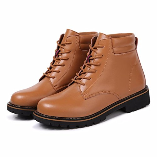 Boot Women's Moonwalker Genuine Ankle Chucka Leather Brown wAq6qX0