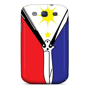 Tough Galaxy ZFHkzoX3442pkons Case Cover/ Case For Galaxy S3(pinoy Pride)