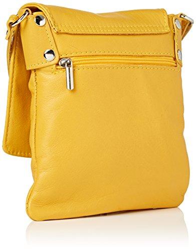 Bolso Amarillo Girly Paola Mujer bandolera HandBags Yellow qwgxTa