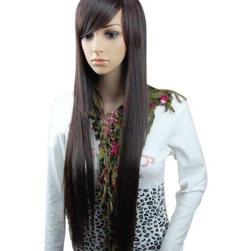 MelodySusie¨ Dark Brown Straight Wig - High Quality Fashion Women Long Straight