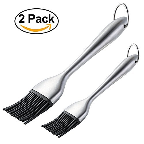 Silicone Basting Brush BBQ Grill Pastry Brush for Baking and