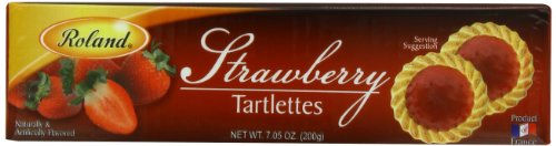 Roland Tartlettes Strawberry 7 05 Ounce product image