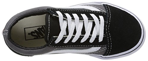 Vans OLD SKOOL - zapatilla deportiva de lona infantil multicolor - Mehrfarbig (BLK/PEWTER G4B)