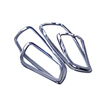 HIGH Flying ABS Chrome Door Inner Handle Bowls Cover Trim 4pcs for Ford Escape Kuga 2013-2017