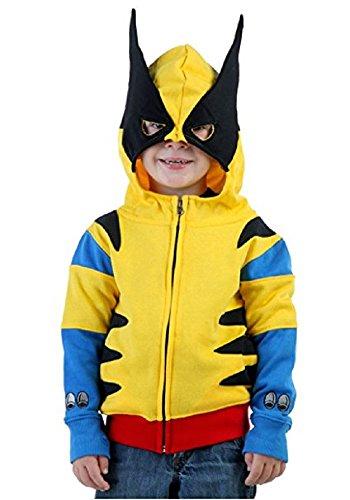 Marvel Little Boys' Toddler Wolverine Costume Hoodie