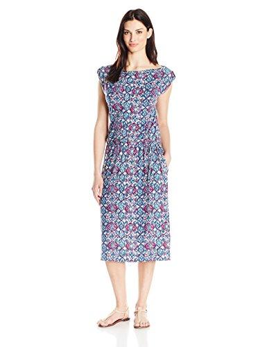 (Royal Robbins Women's Noe Sevilla Dress, Large, Plum Wine)