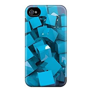 For YvEsDBF6136FganR Cubes 93 Protective Case Cover Skin/iphone 4/4s Case Cover