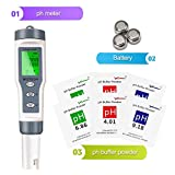 Wiztech Digital PH Meter with ATC: 3 in 1 PH TDS