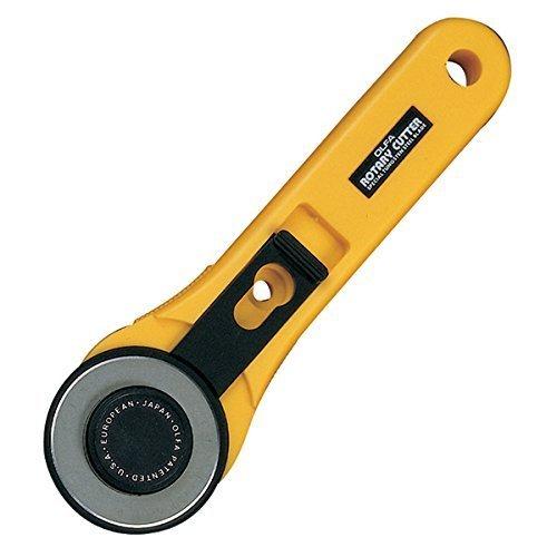 Cortador giratorio de mango recto OLFA de 45 mm (RTY-2 / G)