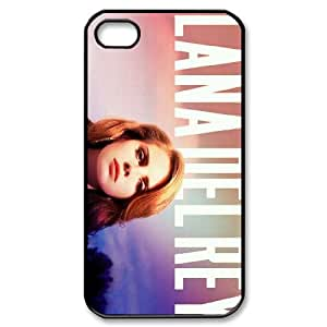 Personalised Iphone 4,4S Lana Del Rey Concert Phone Case, Customised Iphone 4S Lana Del Rey Concert Cover Case
