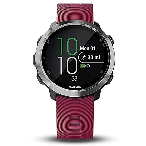 Garmin Forerunner 645 Music Bundle with Extra Band & HD Screen Protector Film (x4) | Running GPS Watch, Wrist HR, Music & Spotify, Garmin Pay (Cerise + Music, White) by PlayBetter (Image #3)