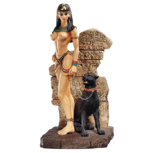 Design Toscano Egyptian Panther Goddess Sculpture