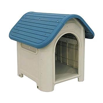 COPELE 70555 Caseta Plástico Perros Dog-House: Amazon.es: Productos para mascotas