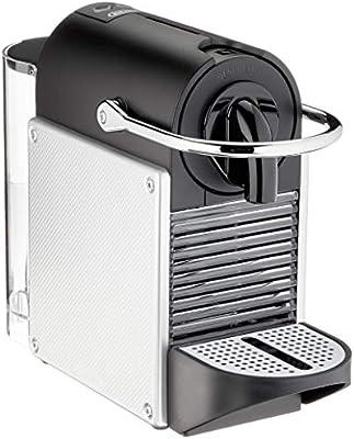 Nespresso DeLonghi Pixie EN124.S Cafetera monodosis cápsulas, 19 Bares, depósito Agua 0.7 L, Apagado automático, 1260 W, 0.7 litros, Acero, Plata: Amazon.es: Hogar