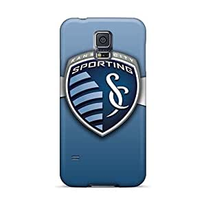 Samsung Galaxy S5 OQH1294bxOD Unique Design HD Sporting Kc Pattern Scratch Protection Hard Cell-phone Case -top10cases