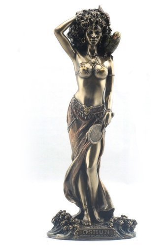 Oshun - Goddess of Love, Beauty and Marriage Sculpture ()