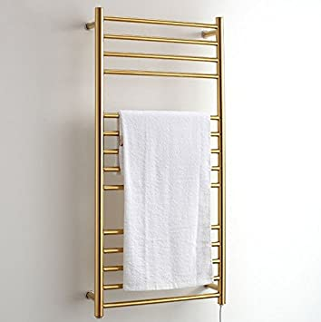 Handtuchheizkörper Golden Electric Handtuchhalter Heizung Gold ...