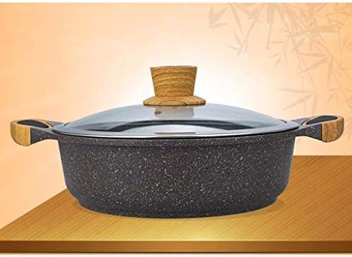YWSZJ Aluminium Pan, Nonstick Fry Pan Revêtement, poêles à Frire Casseroles de, Maifan Pierre Hotpot Soupe Claire Pot