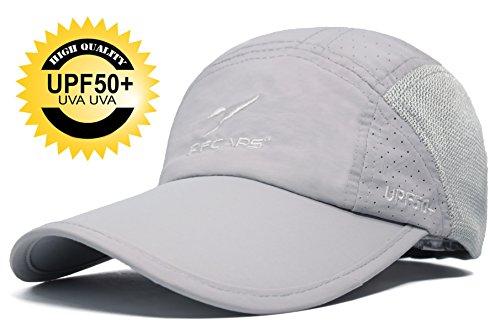 Ellewin Summer Baseball Cap Quick Dry Cooling Sun Hats Flexfit Sports Caps Mesh Hat For Golf Cycling Running Fishing Outdoor - Hat Protection Sun Running