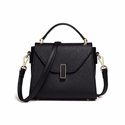 Mujer Bag CCZUIML Bolso para Crossbody de negro Negro Mano UqYaxn