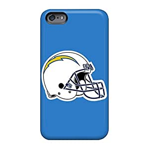 Apple Iphone 6 Apb12378fqyF Unique Design High Resolution San Diego Chargers Image Bumper Cell-phone Hard Covers -JohnPrimeauMaurice