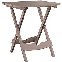 Adams Manufacturing 8500-96-3700 Plastic Quik-Fold Side Table Portobello