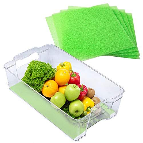 Dualplex Fruit /& Veggie Life Extender Liner for Fridge Refrigerator Drawers 4 2