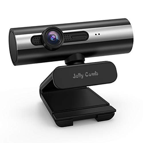 Used, Webcam 1080P Full HD, Jelly Comb Computer Webcam USB for sale  Delivered anywhere in USA