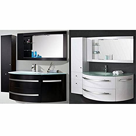 Colonna Bagno 30 Cm.Mobile Bagno 120 30 Cm Bianco O Nero Con Colonna In Omaggio
