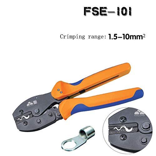 New 1Pc FSE-101 Ratchet Crimping Tool Crimping plier 1.5-10mm2 Multi Tools Hands