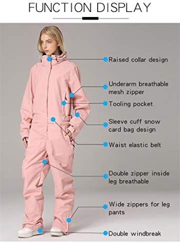 Women's Men's One Pieces Ski Suits Jumpsuits Couple SKi Suit Coveralls Winter Outdoor Waterproof Snowsuits for Snow Sports
