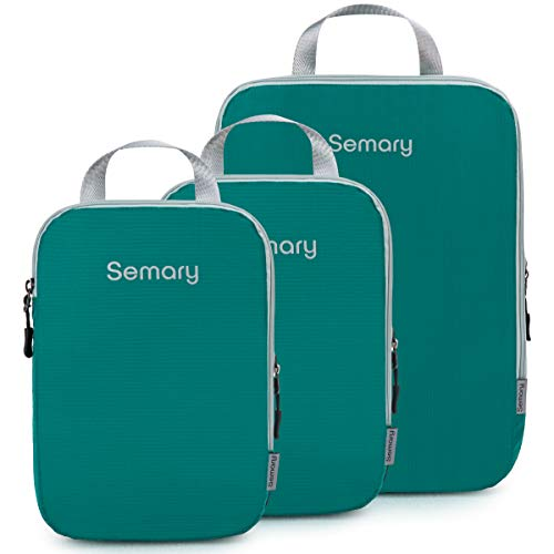 Semary Compression Packing Cubes For Luggage