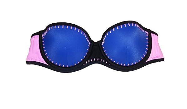 060566ddd0c78 Amazon.com: Victoria's Secret Bikini Swim Top The Flirt Bandeau (32B ...