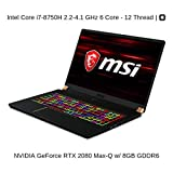 HIDevolution MSI GS75 8SG Stealth (GS75-Stealth-202-HID2-US) technical specifications
