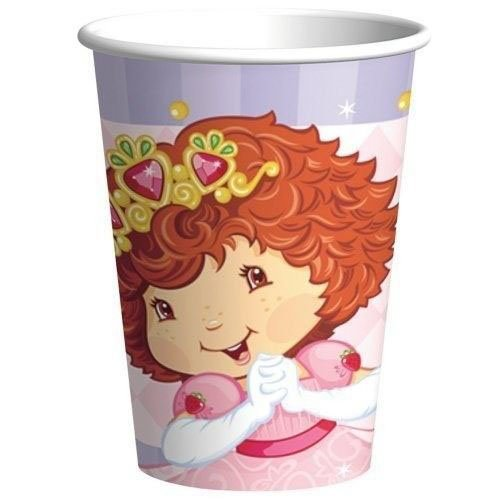 Strawberry Shortcake Princess 9 oz. Cups -