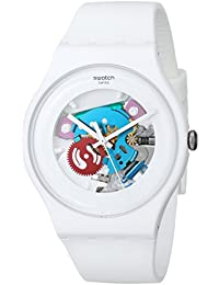 White Lacquered Ladies Watch SUOW100