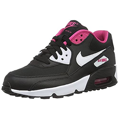 01634d50790fa Nike Youths Air Max 90 Mesh Leather Trainers hot sale - holmedalblikk.no
