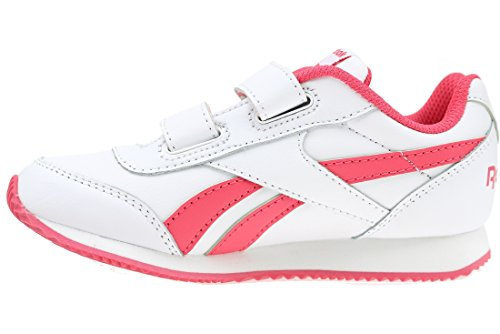 Royal 2 Chaussures Cljog 2v Entrainement Fille Blanc Running Reebok De HSwqd4qx