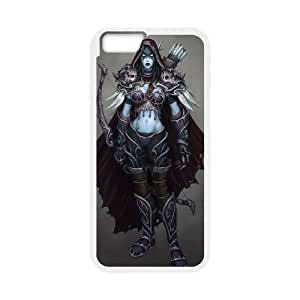 iPhone 6 4.7 inch Cell Phone Case White sylvanas windrunner world of warcraft Popular games image WOK0699254